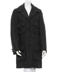 Marc Jacobs Linen Knee Length Coat
