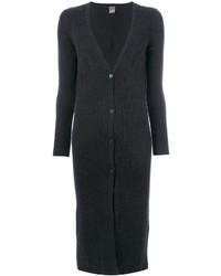 Lorena Antoniazzi Long Ribbed Cardi Coat