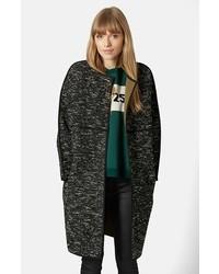 Topshop Marled Blanket Coat