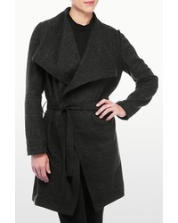 NYDJ Plaid Wrap Coat