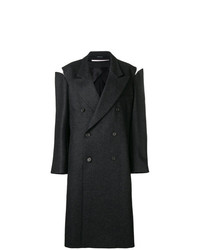 Maison Margiela Oversized Slash Detail Coat