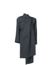 Balenciaga Pulled Double Breasted Coat