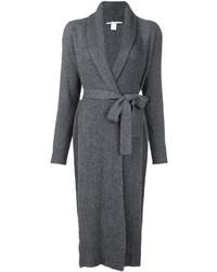 Rosetta Getty Ribbed Cardi Coat