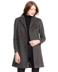 Wool blend reefer coat medium 366100