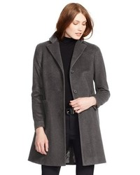 Wool blend reefer coat medium 8649493