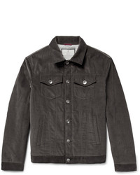 Brunello Cucinelli Padded Cotton Corduroy Jacket