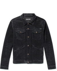 Tom Ford Stretch Cotton Corduroy Trucker Jacket