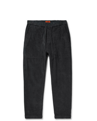 Barena Tapered Stretch Cotton Corduroy Trousers