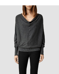 AllSaints Elgar Cowl Neck Sweater