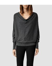 Allsaints elgar cowl neck sweater medium 155904