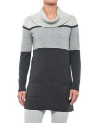 Eight Eight Eight Color Blocked Sweater Cowl Neck