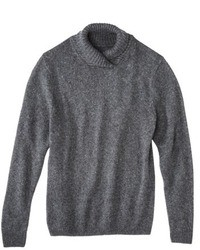 3.1 Phillip Lim For Target Mock Neck Sweater Charcoal Gray