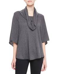 Joie Celia Cowl Neck Sweater Gray