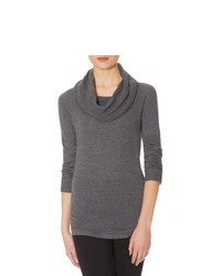 The limited textured cowl neck sweater medium 155911