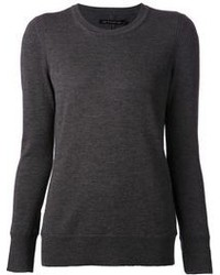 Charcoal crew neck sweater original 2137839