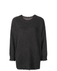 R13 Boxy Distressed Sweater