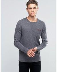 Esprit Crew Neck Sweater With Pocket