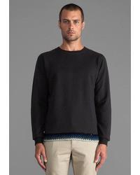 Folk Crochet Sweatshirt