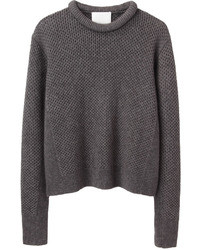 3.1 Phillip Lim Cropped Roll Neck Pullover