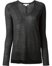 Duffy scoop neck sweater medium 171202