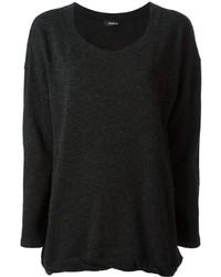Gathered hem sweater medium 171201