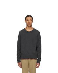 Maison Margiela Grey Cashmere Sweater
