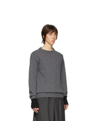 Random Identities Grey Knit Sweater