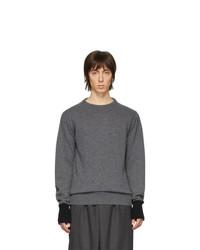 Random Identities Grey Knit Sweater
