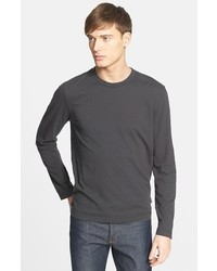 James Perse Long Sleeve Crewneck T Shirt