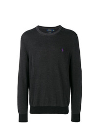 Polo Ralph Lauren Logo Embroidered Sweater
