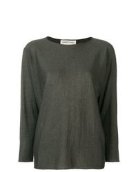 Lamberto Losani Long Sleeve Shift Sweater