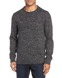 Nordstrom Men's Shop Marled Cotton Cashmere Roll Neck Sweater