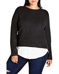 Plus size promise me sweater medium 5309181