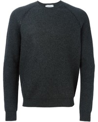 Salvatore Ferragamo Stitched Shoulder Sweater