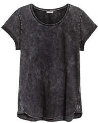 H&M Slub Jersey T Shirt