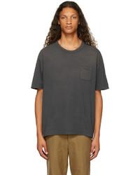VISVIM Black Jumbo Crash T Shirt