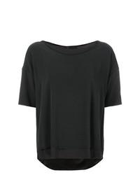 Kristensen Du Nord Curved Hem T Shirt