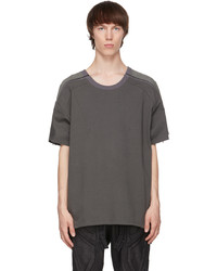 Blackmerle Green Zip Panel T Shirt