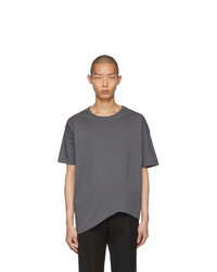 Bottega Veneta Grey Asymmetric T Shirt
