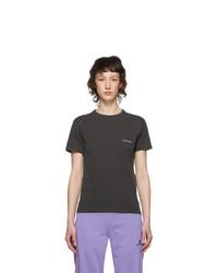 Balenciaga Grey Copyright Logo T Shirt