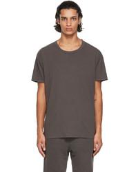 Les Tien Grey Crewneck T Shirt