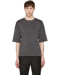 Grey drop shoulder t shirt medium 1151414