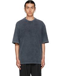 Han Kjobenhavn Grey Faded Distressed T Shirt