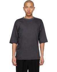 N. Hoolywood Grey Half Sleeve T Shirt