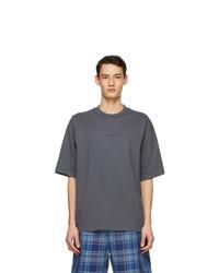 Acne Studios Grey Logo T Shirt