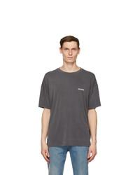 We11done Grey Oversized T Shirt