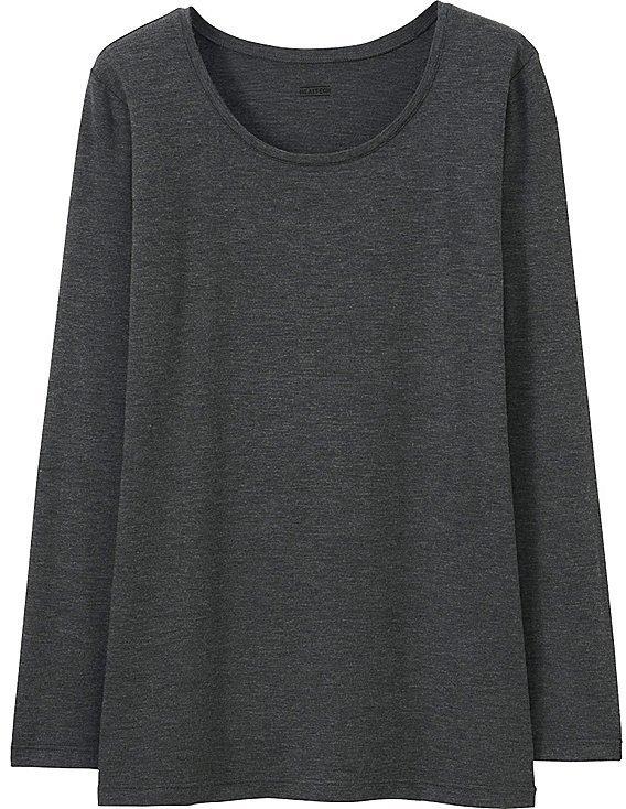 Uniqlo Heattech Crewneck T Shirt