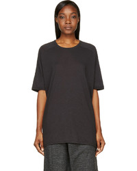 Ma Julius Grey Oversized Jersey T Shirt