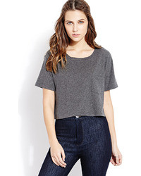 Forever 21 Off Duty Boxy Pocket Tee