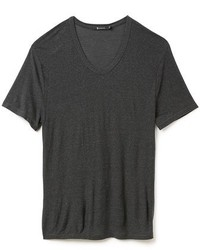 Alexander Wang T By Slub Low Neck T Shirt